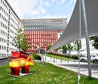 Simulation neue Fassade Knappschaftskrankenhaus Dortmund