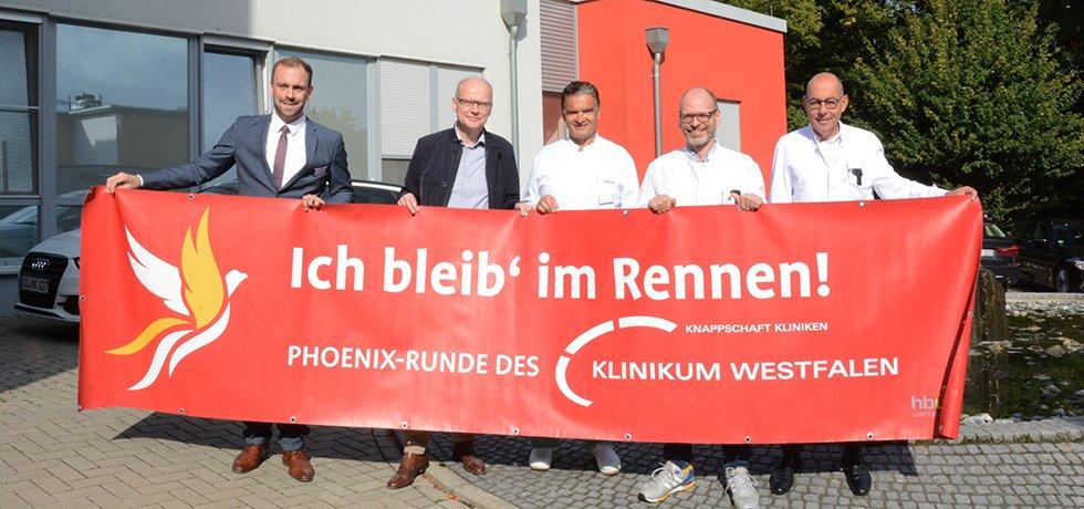 Krebszentrum des Klinikums Westfalen mach Erkrnakten Mut