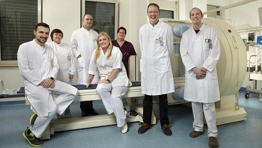 Das Team der Klinik für Nuklearmedizin