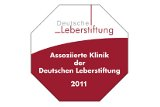 Assoziierte Klinik der Deutschen Leberstiftung 2011