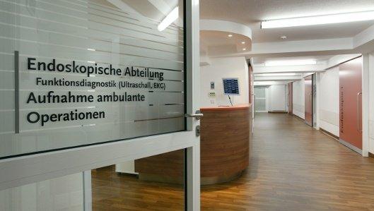 Die Endoskopische Abteilung