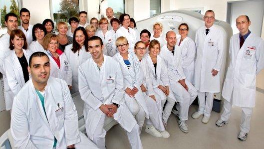 Das Team der Klinik für Radiologie
