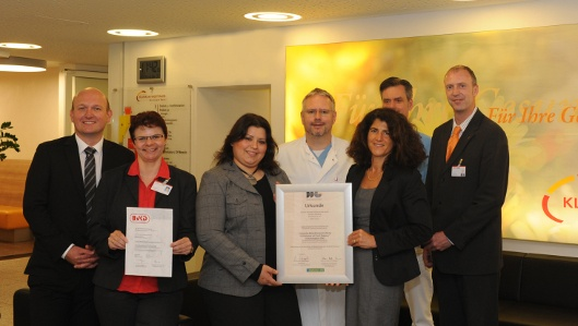 Klinik am Park zertifiziert als Diabetologikum