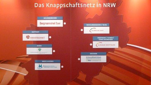Das Knappschaftsnetz in NRW