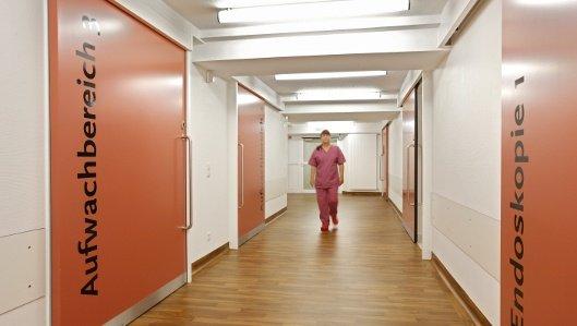 Die Endoskopische Abteilung in der Klinik am Park Lünen